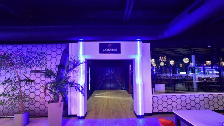 Laserspace Enschede - interieurbouw